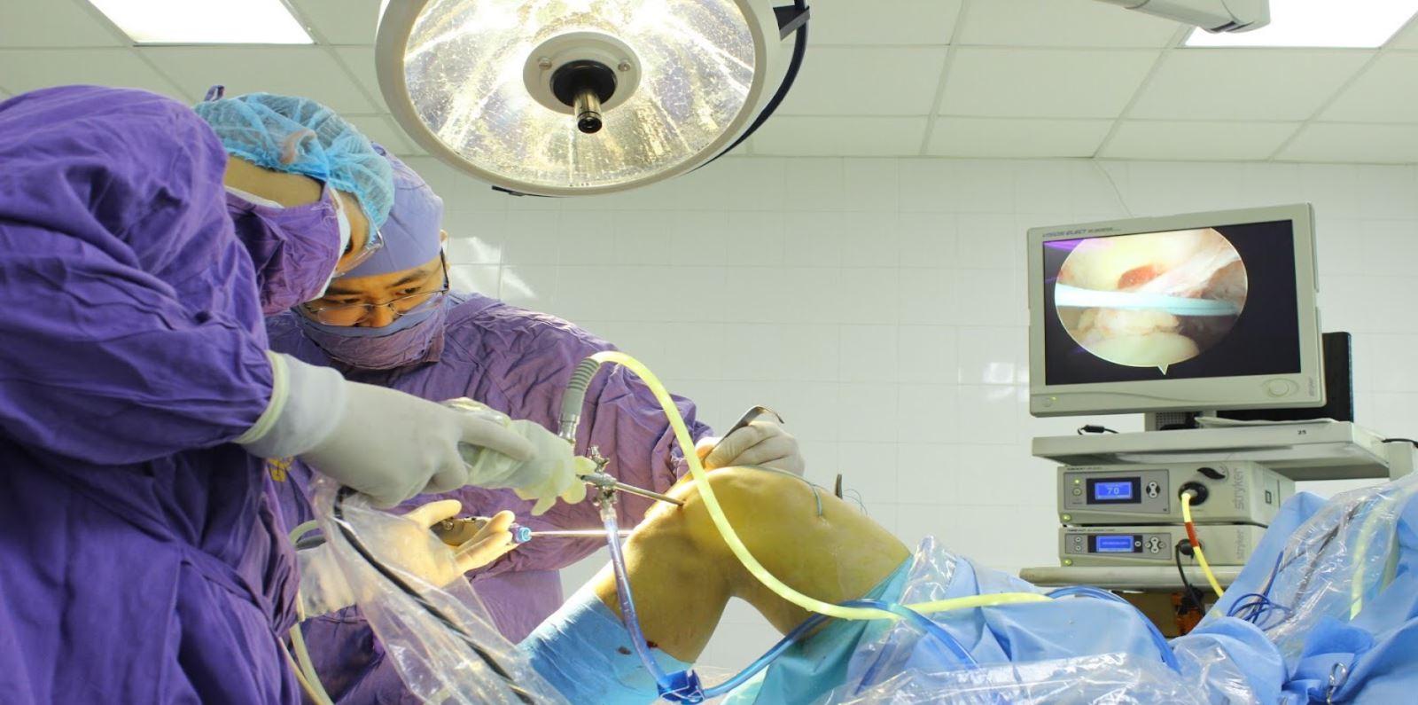 Bệnh viện 19-8 đi đầu nghiên cứu ứng dụng chẩn đoán hình ảnh trong nội soi khớp