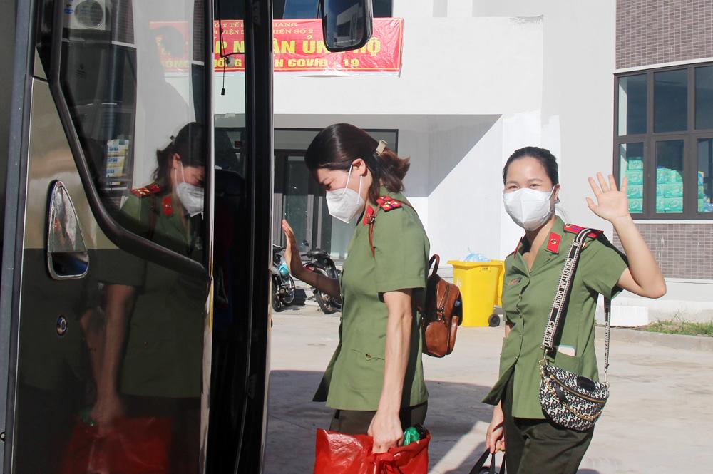 Đoàn cán bộ y tế Bộ Công an hoàn thành nhiệm vụ giúp tỉnh Bắc Giang chống dịch