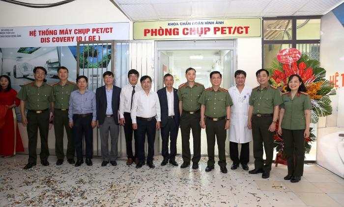 Bệnh viện 19-8 Bộ Công an khánh thành và đưa vào sử dụng hệ thống máy chụp PET/CT