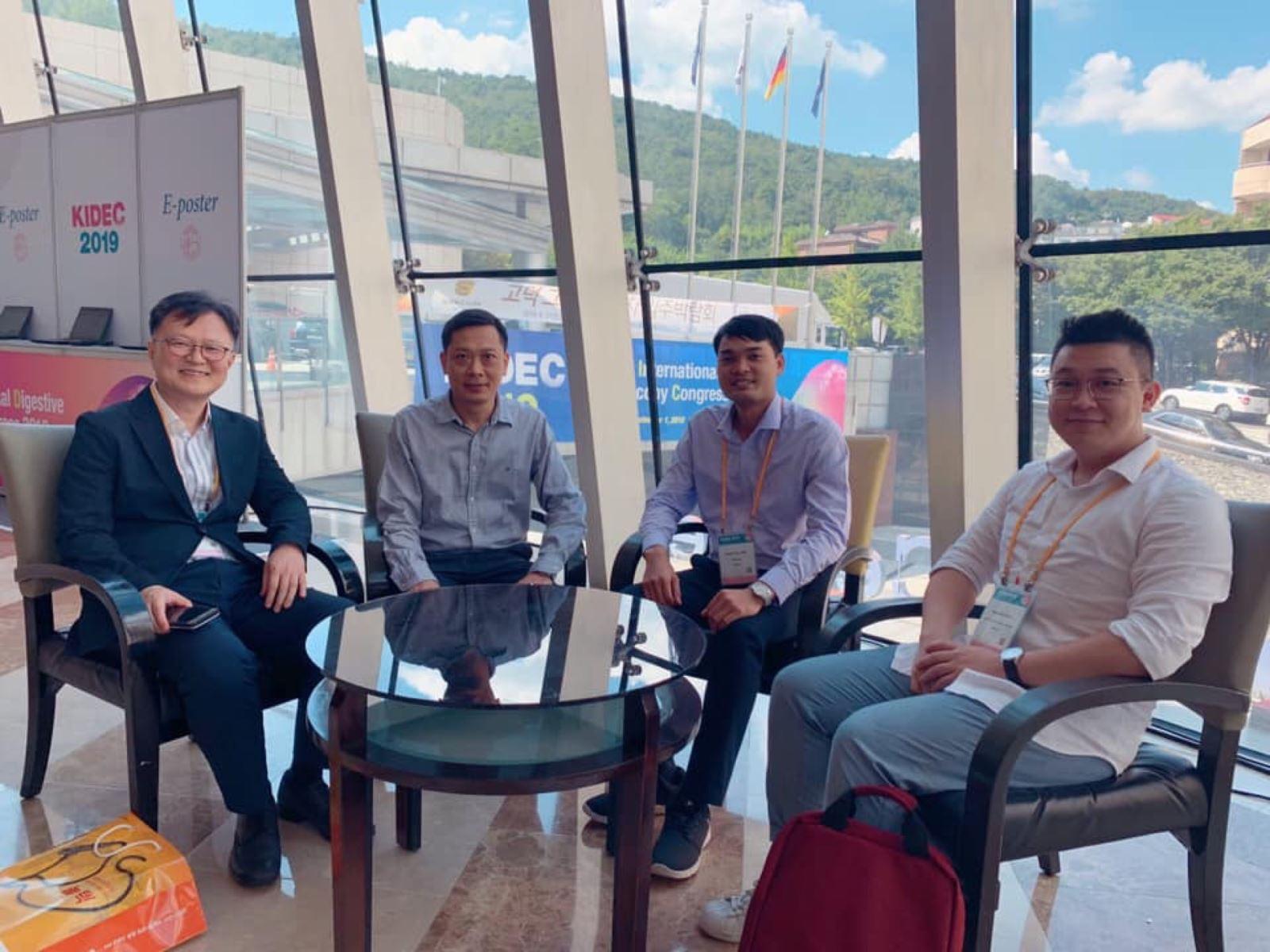 Đoàn bác sĩ BV198 tham gia Hội nghị Nội soi tiêu hoá quốc tế tại Hàn Quốc – KIDEC 2019