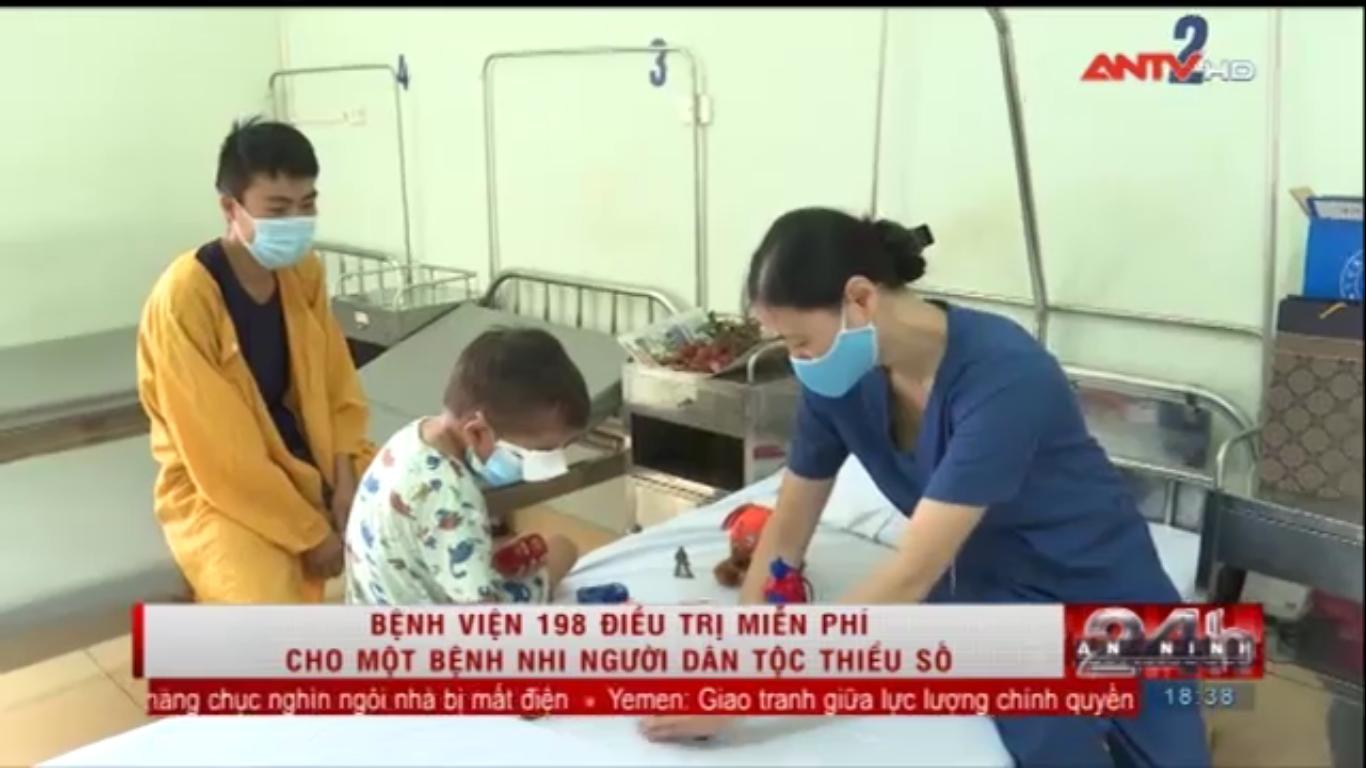 Bệnh viện 19-8 điều trị miễn phí cho bệnh nhi người dân tộc thiểu số