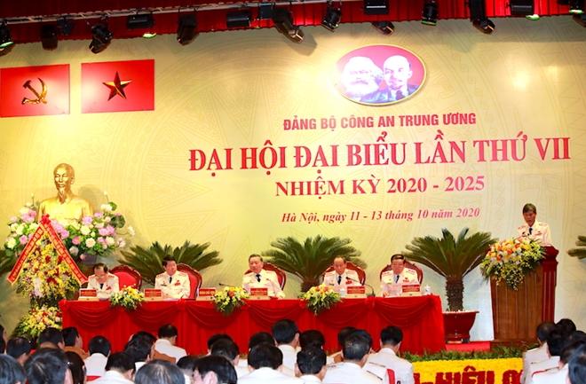 Đại hội Đảng bộ Công an Trung ương lần thứ VII thành công tốt đẹp