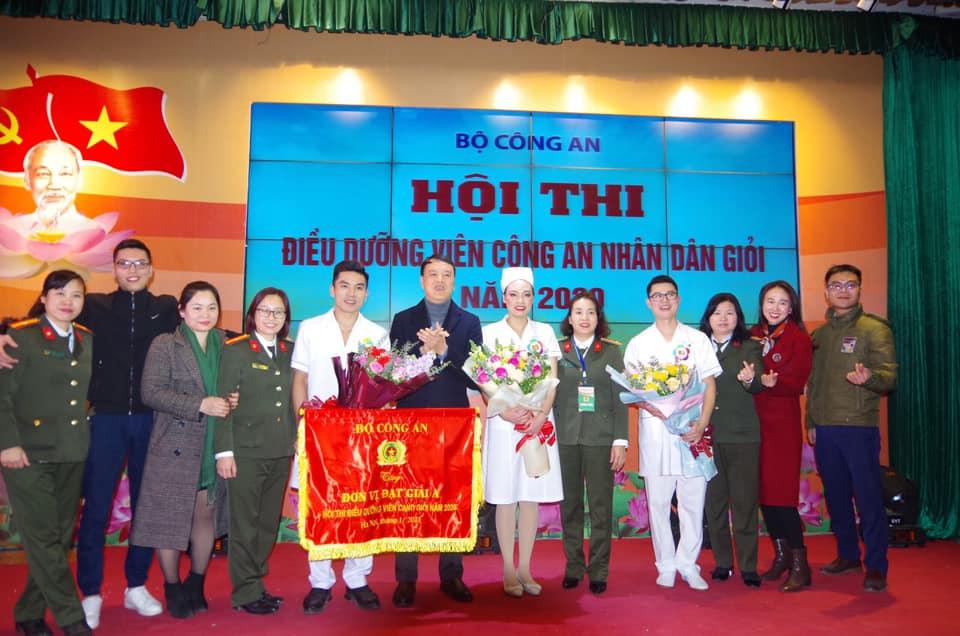 Bệnh viện 19-8 đạt thành tích dẫn đầu tại Hội thi Điều dưỡng viên giỏi Công an nhân dân